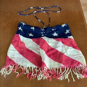 Ralph Lauren American flag top
